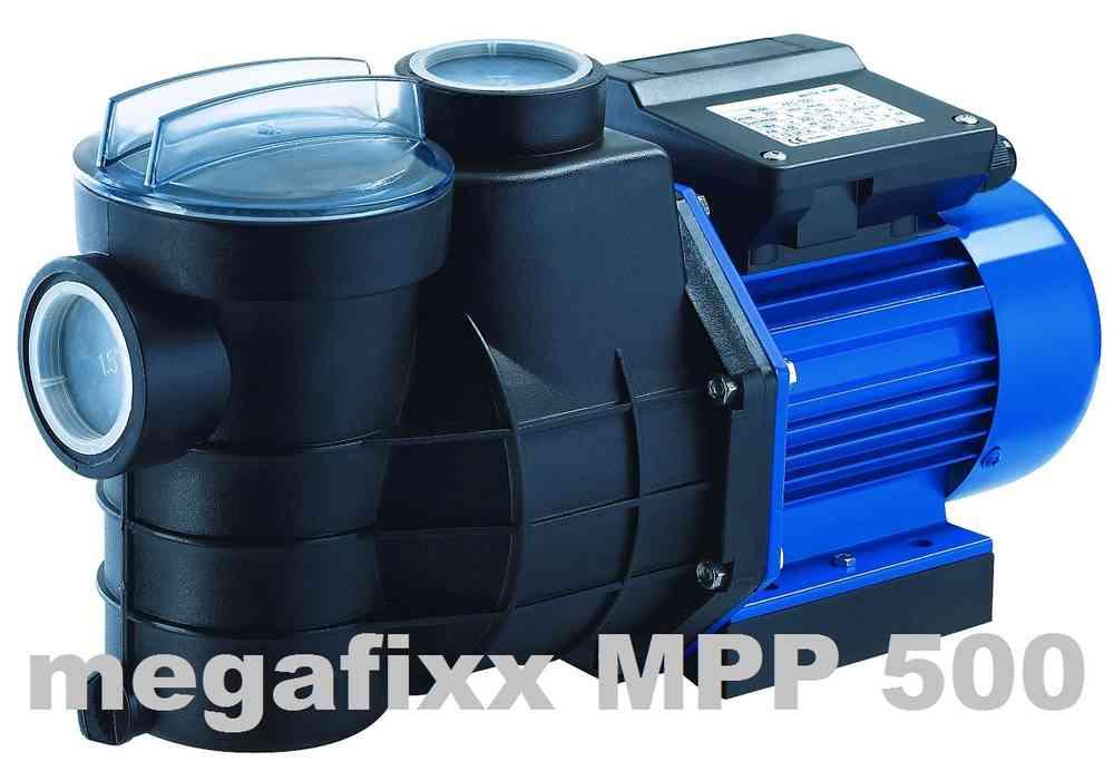 MPP500 Schwimmbadpumpe 500 Watt bis 13000 Liter / Std