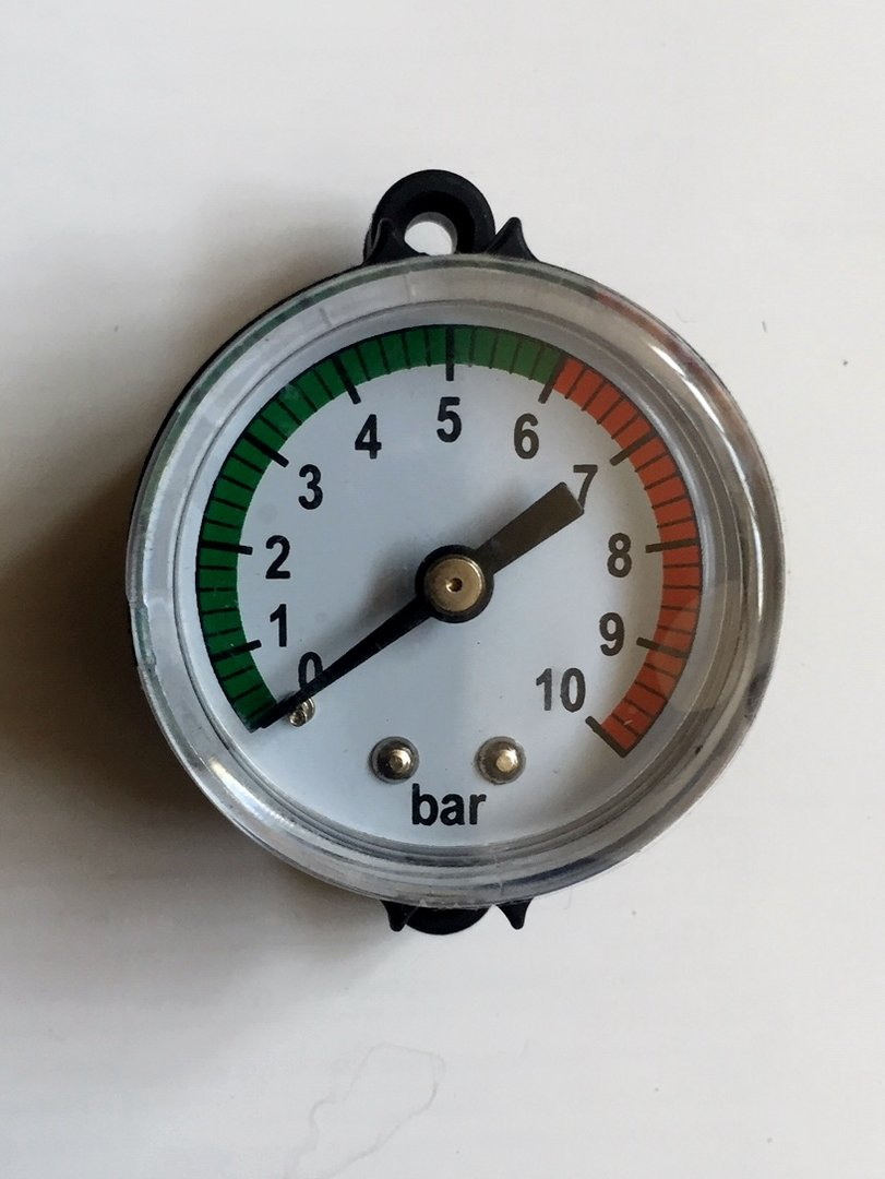 1PC Manometer ersetzen Praktisches tragbares Manometer für Wassergas